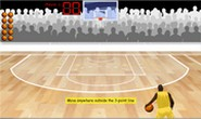 Finding percentages hoop shoot game