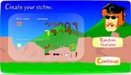 Add fractions horizontal arrangement Fling the teacher game