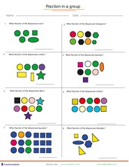 math worksheet : fractions worksheets understanding fractions adding fractions  : Fractions Of Shapes Worksheets