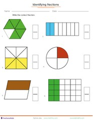 Fractions worksheets, understanding fractions, adding fractions ...