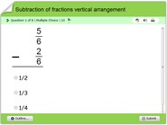 Subtraction-of-fractions-vertical-arrangement